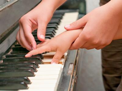 Homepage piano